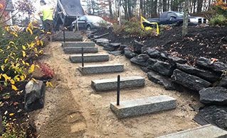 Unique Pavement Projects like Steps for Curb-Appeal Gray, Maine